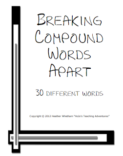BREAKING COMPOUND WORDS