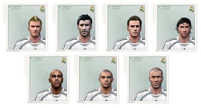 PES 6 Classic Facepack Real Madrid by Jun Huang