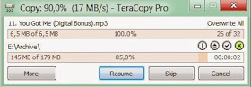 Teracopy Copy File from One Device To Another At Fast Amazing Speed