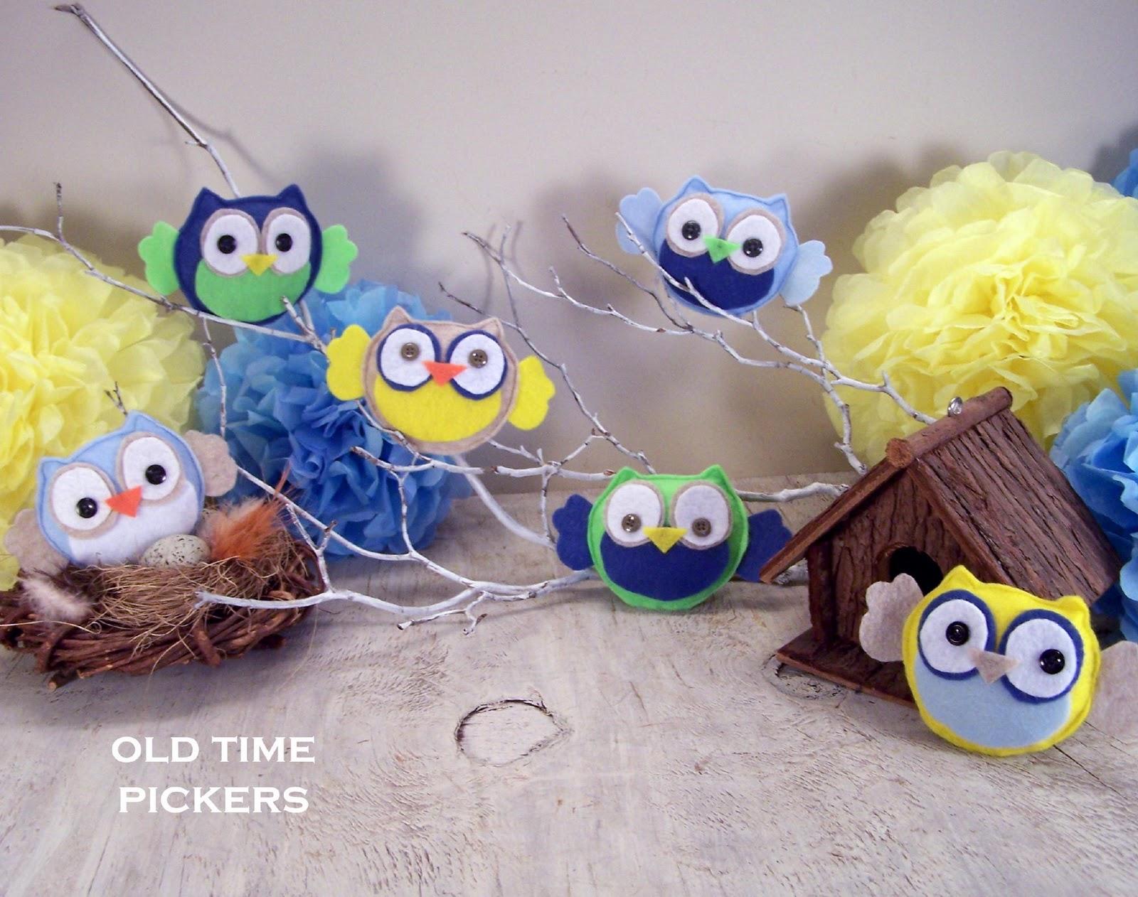 Vintage Owl Decor