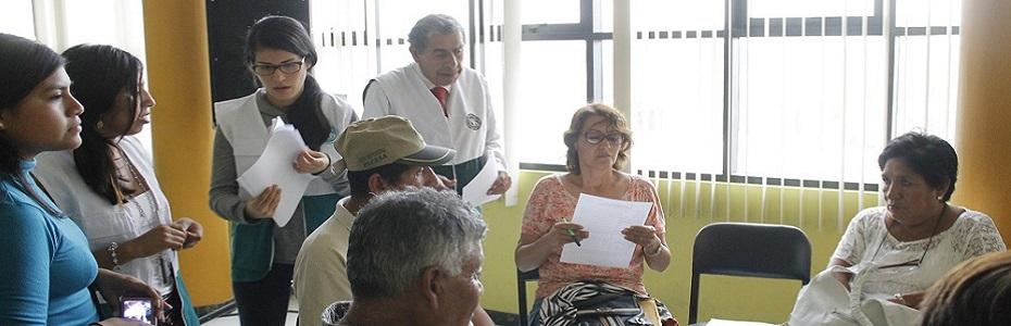 Proyecto: Identificación de Proyectos Comunales para su Financiamiento pro el Presupuesto Participativo
