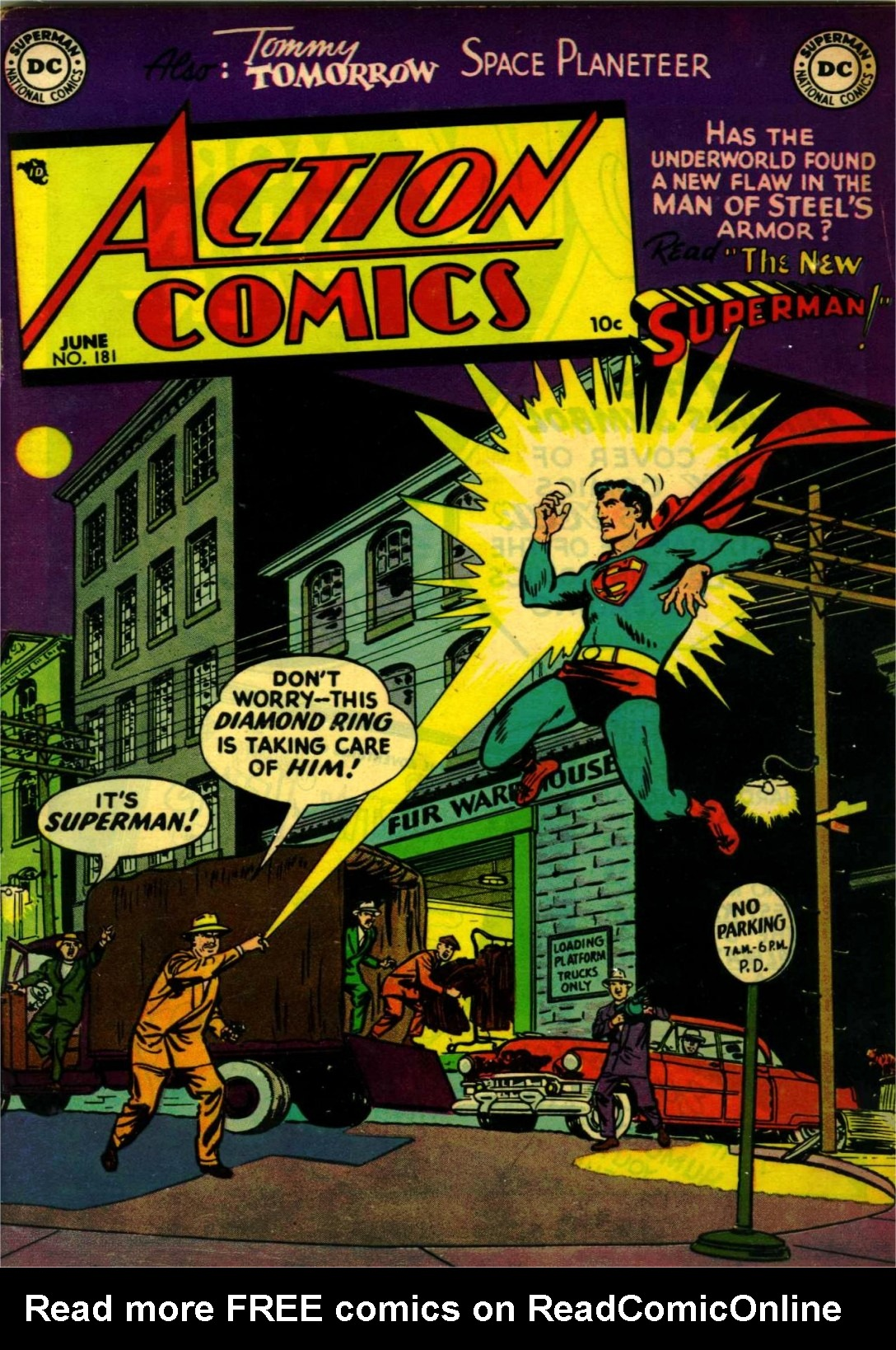 Read online Action Comics (1938) comic -  Issue #181 - 1