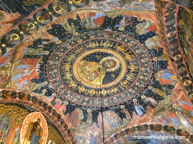 Frescos Monasterio de Bachkovo Bulgaria