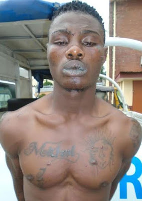 Photos: No amount of gun shot can pierce my body – Cult suspect Says