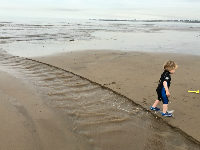 #MySundayPhoto-number-38-toddler-on-Ogmore-beach