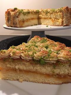 Recette du gâteau délice aux amandes