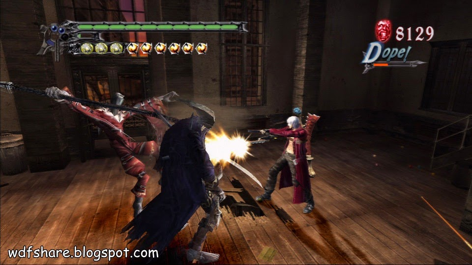 Devil May cry 3 Setup