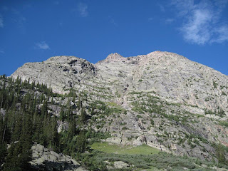 Arrow Peak in the Grenadier Range