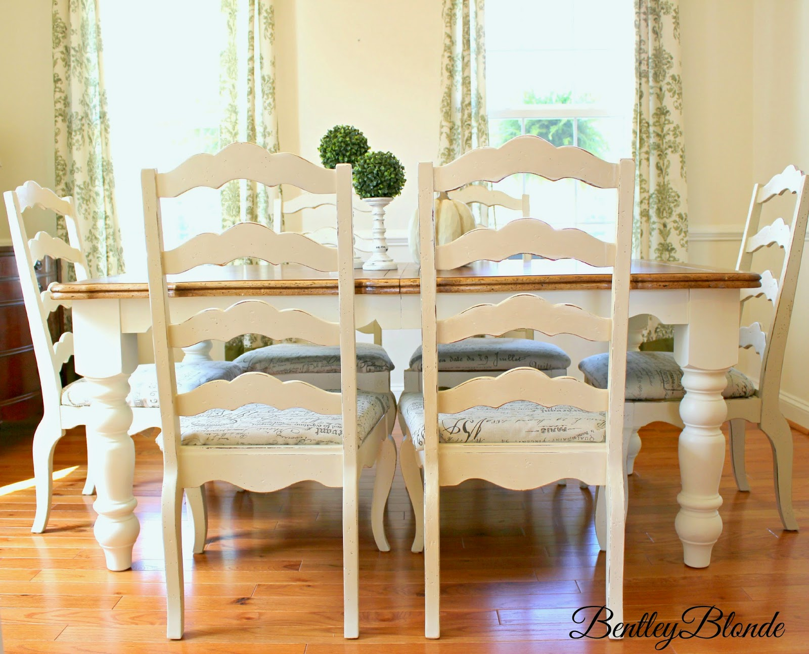 Diy Farmhouse Table Dining Set Makeover With Annie Sloan Chalk Paint