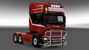 Scania RJL Red Beast skin mod