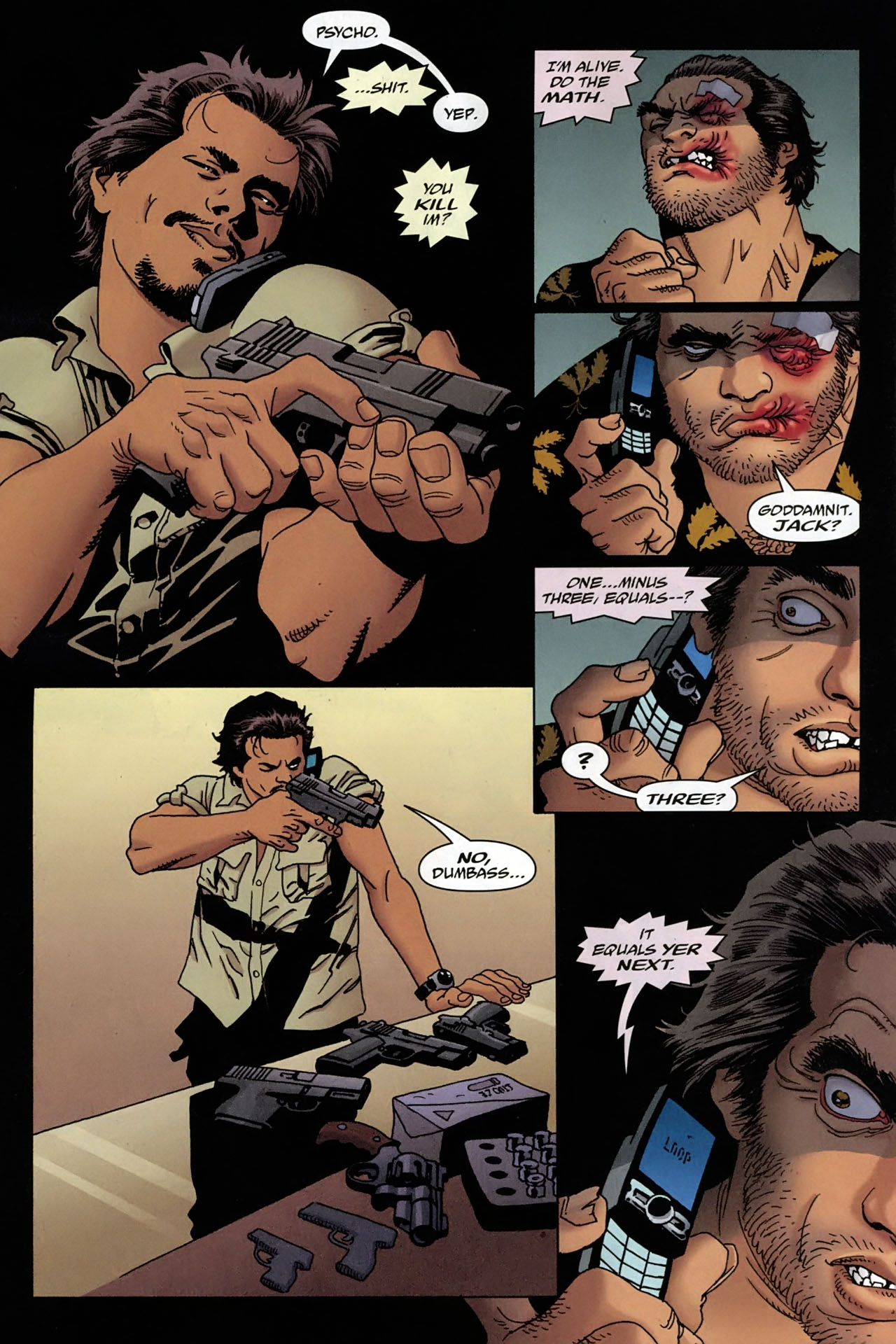 Read online 100 Bullets comic -  Issue #96 - 9