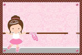 Preciosa Ballerina: Mini Kit para Imprimir Gratis.