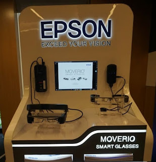 Epson Introduces Moverio Smart Glasses at Singapore Grand Prix