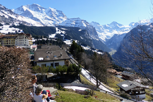 Wengen, Switzerland, Bernese Oberland