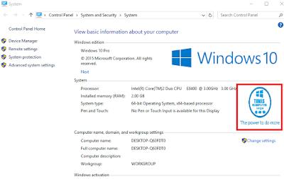 Cara Mudah Membuat Logo OEM di System Information Windows