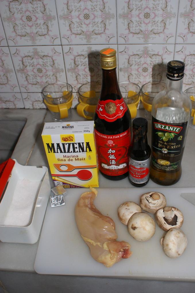 Recetas de cocina del chef Antuan Sopa china de pollo y championes