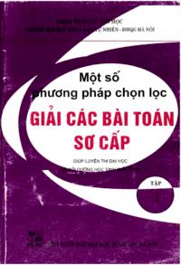 Một Số Phương Pháp Chọn Lọc Giải Các Bài Toán Sơ Cấp Tập 2 - Phan Đức Chính