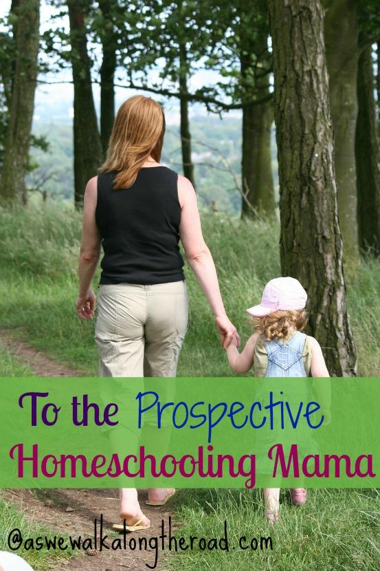homeschooling mom, prospective homeschooler