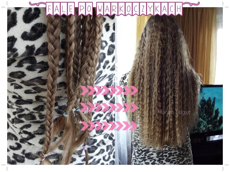 Fryzury Fale Z Warkoczyków Efekt Karbowanych Włosów
