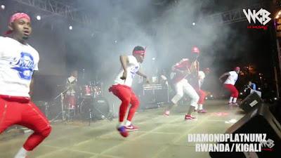Diamond Platnumz - Live performance at Rwanda/kigali (part 2).