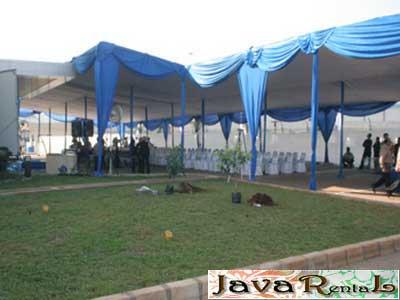 Penyewaan Tenda Plafon VIP - Pesta