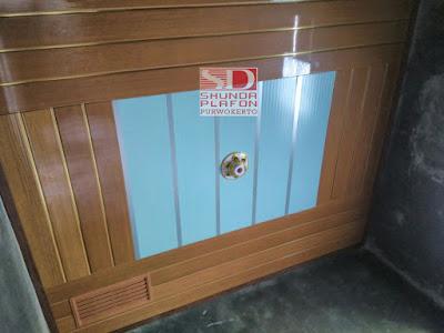 Pemasangan Plafon Pvc Shunda di Rumah Bapak Rahman | Shunda Plafon