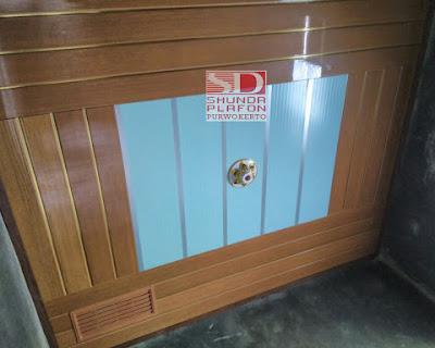 Pemasangan Plafon Pvc Shunda di Rumah Bapak Rahman