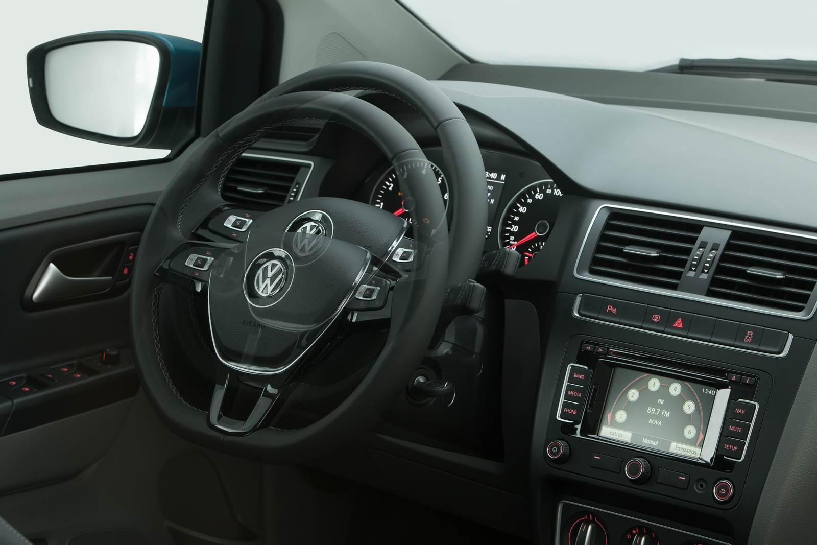 Novo VW Gol 2016 - interior
