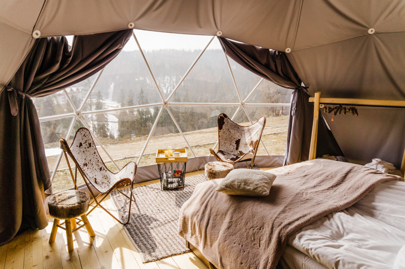 Glamping in Poland