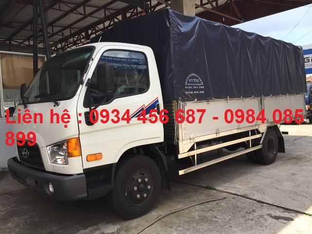 Xe tải Hyundai HD75s thùng bạt