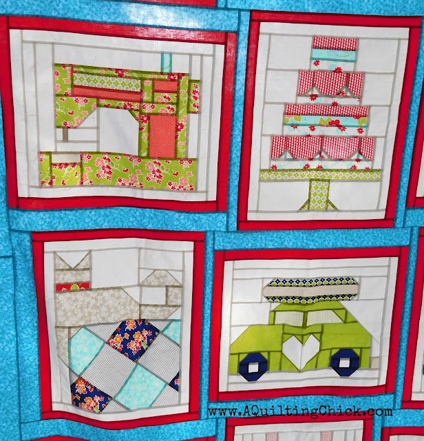 A Quilting Chick - Snapshots