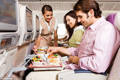 Emirates in flight catering