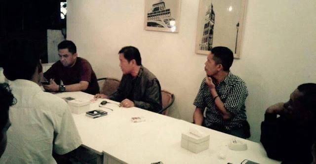 Pilwalkot Palopo, Edy Maiseng Bertemu Tim Penjaringan DPIP