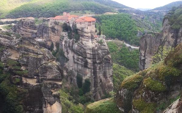 Manastirile de la Meteora - priveliste