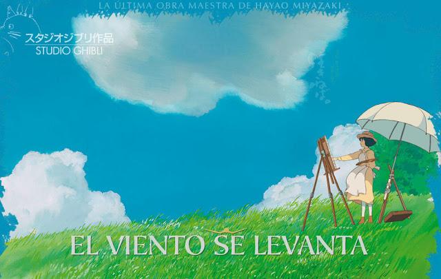 Película El viento se levanta de Studio Ghibli, dirigida por Hayao Miyazaki en el año 2013