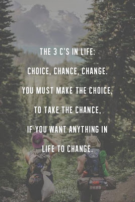 #quote image Choice, chance, change