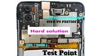 VIVO V9 (1723) EDL Mode Pinout Remove Pattern Lock | Remove Pin Lock