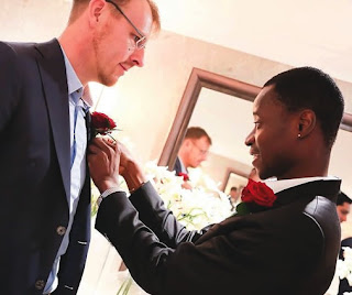 Bisi Alimi, Popular Nigerian Gay Rights Activist Weds British Lover In London