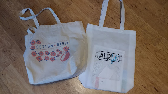 Quilty tote bags