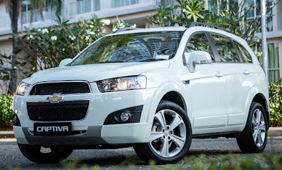 Ulasan Spesifikasi dan Harga Chevrolet Captiva  Kelebihan dan Kekurangan Chevrolet Captiva Bensin/Diesel