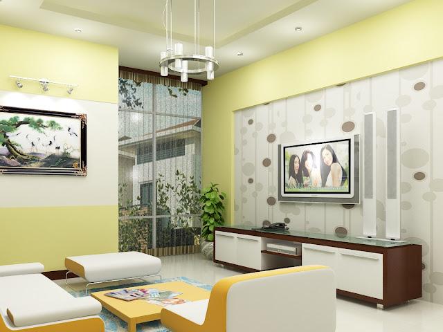 Báo giá giấy dán tường 3D cho phòng khách