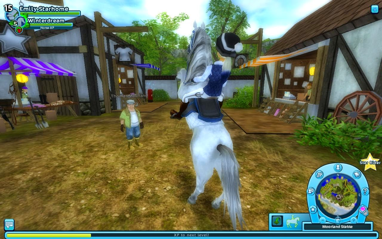 Star Stable Online Database: Clothes at Fionna in Moorland Stable 1 :)