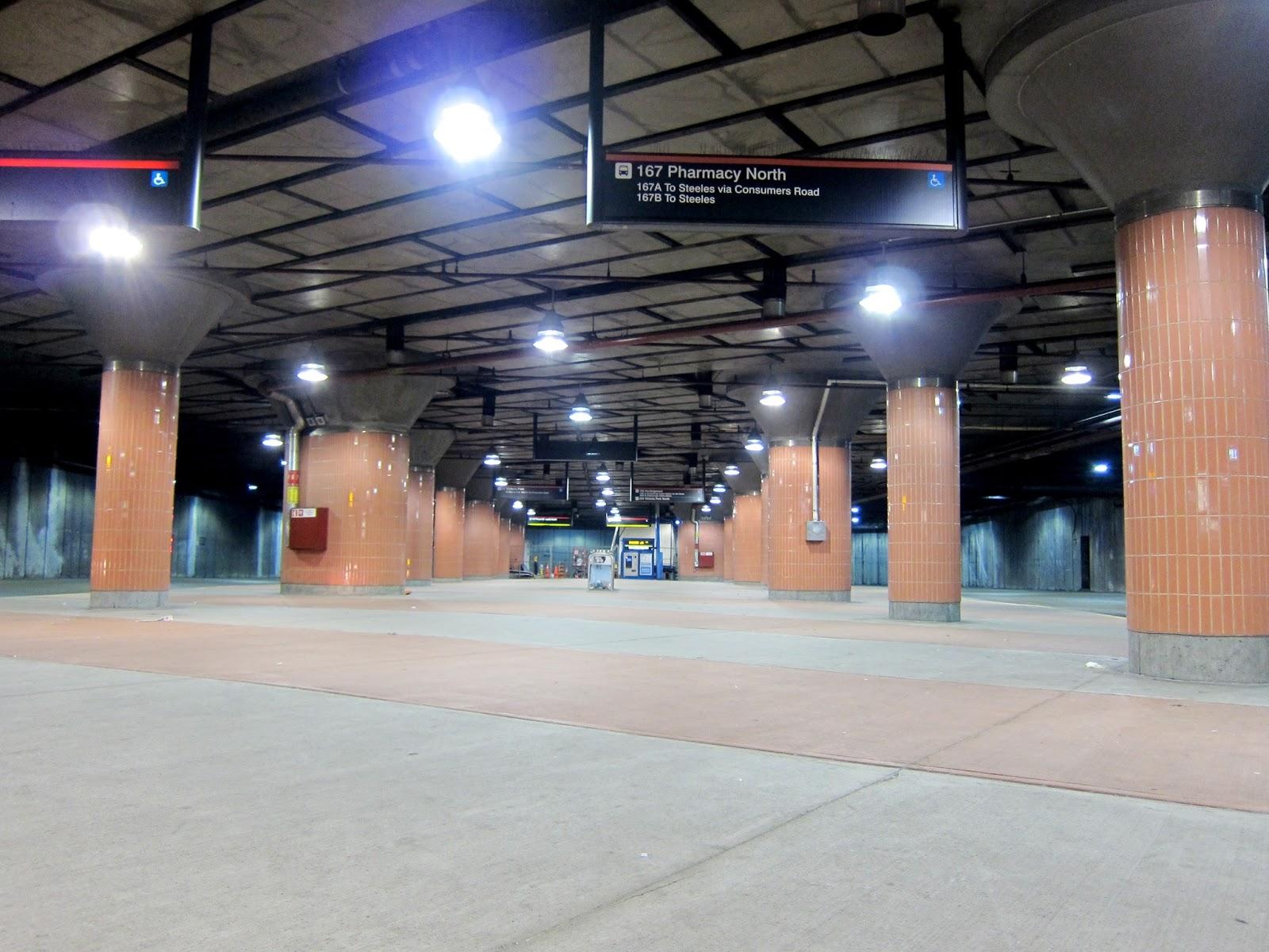 Don Mills bus terminal