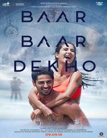 Poster Of Baar Baar Dekho 2016 Hindi 720p DVDScr x264 Watch Online Free Download downloadhub.net