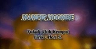 Lirik Lagu Mampir Ngombe - Didi Kempot