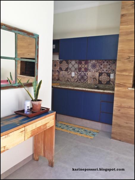 armário perto da churrasqueira