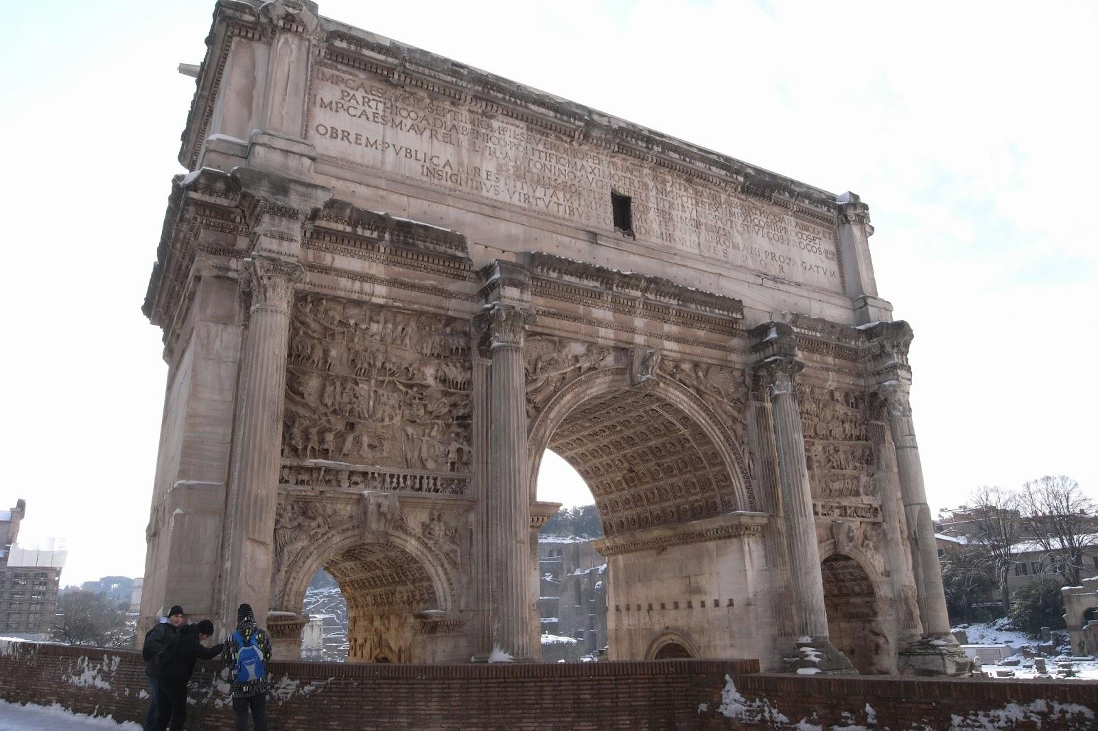 セプティミウス・セウェルスの凱旋門(Arcus Septimii Severi)