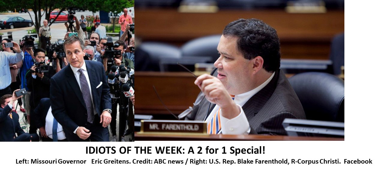 Blake Farenthold Scandal >> The On-Line Buzzletter
