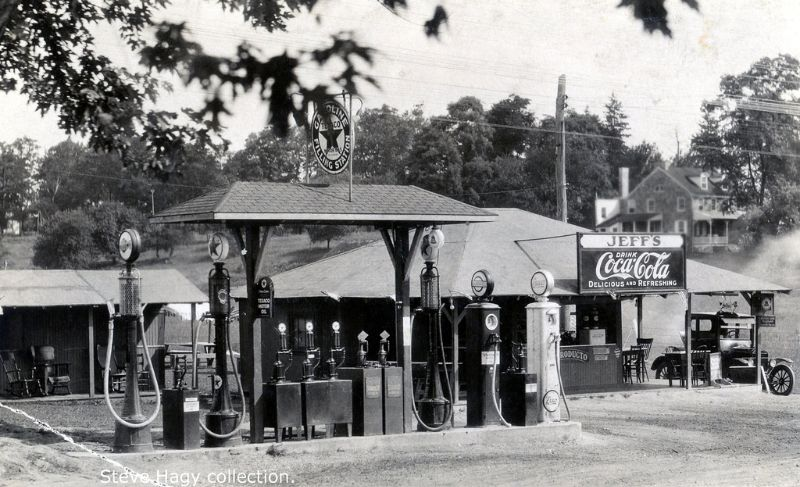 28 Found Photos Show What Service Stations of the US Looked Like in the Early 20th Century