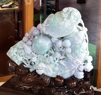 carved jade art
